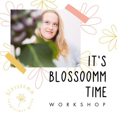 It's Blossoomm time workshop